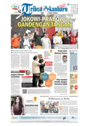 Cover Tribun Pekanbaru 24 September 2018