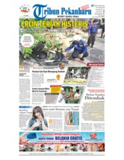 Cover Tribun Pekanbaru 15 November 2018