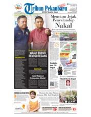 Tribun Pekanbaru Cover 19 November 2018