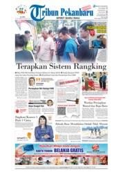 Cover Tribun Pekanbaru 22 November 2018