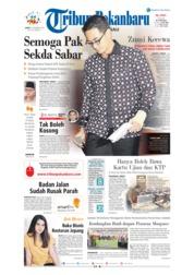 Cover Tribun Pekanbaru 07 Desember 2018