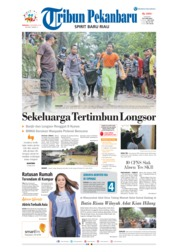Cover Tribun Pekanbaru 09 Desember 2018