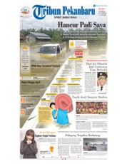 Cover Tribun Pekanbaru 10 Desember 2018