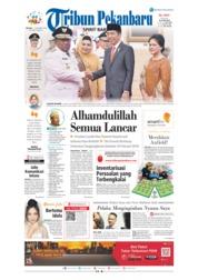 Tribun Pekanbaru Cover 11 December 2018