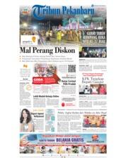 Cover Tribun Pekanbaru 13 Desember 2018