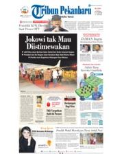 Cover Tribun Pekanbaru 15 Desember 2018