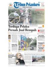 Cover Tribun Pekanbaru 17 Desember 2018