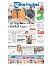 Cover Tribun Pekanbaru 19 Desember 2018
