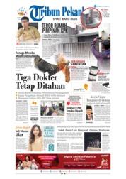 Cover Tribun Pekanbaru 10 Januari 2019
