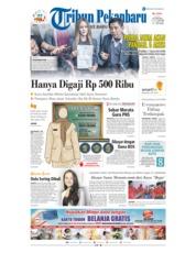 Cover Tribun Pekanbaru 11 Januari 2019