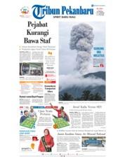 Cover Tribun Pekanbaru 13 Januari 2019