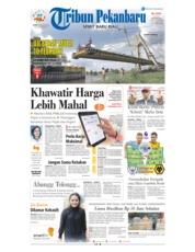 Cover Tribun Pekanbaru 14 Januari 2019