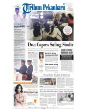 Cover Tribun Pekanbaru 18 Januari 2019