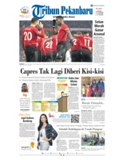 Cover Tribun Pekanbaru 20 Januari 2019