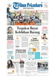 Cover Tribun Pekanbaru 23 Januari 2019