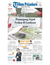 Cover Tribun Pekanbaru 17 Februari 2019