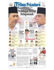 Cover Tribun Pekanbaru 20 Februari 2019