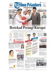 Cover Tribun Pekanbaru 21 Februari 2019