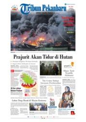 Cover Tribun Pekanbaru 24 Februari 2019