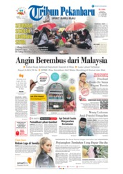 Cover Tribun Pekanbaru 21 Maret 2019