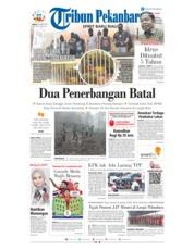 Cover Tribun Pekanbaru 22 Maret 2019