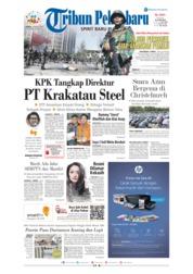 Cover Tribun Pekanbaru 23 Maret 2019