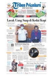 Cover Tribun Pekanbaru 24 Maret 2019