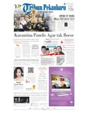 Cover Tribun Pekanbaru 13 April 2019
