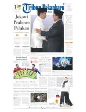 Cover Tribun Pekanbaru 14 April 2019