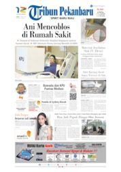 Cover Tribun Pekanbaru 15 April 2019
