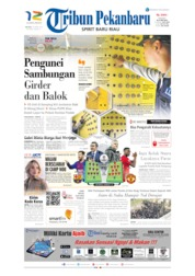Cover Tribun Pekanbaru 16 April 2019
