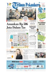 Cover Tribun Pekanbaru 17 April 2019