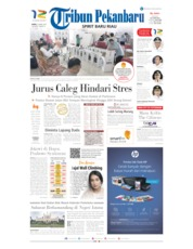 Cover Tribun Pekanbaru 20 April 2019