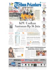 Cover Tribun Pekanbaru 23 April 2019
