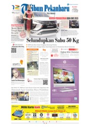 Cover Tribun Pekanbaru 26 April 2019