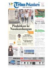 Cover Tribun Pekanbaru 14 Mei 2019