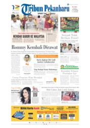 Cover Tribun Pekanbaru 15 Mei 2019