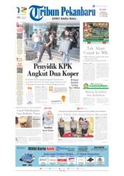 Cover Tribun Pekanbaru 16 Mei 2019