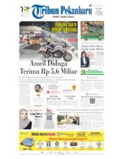Cover Tribun Pekanbaru 17 Mei 2019