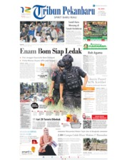 Tribun Pekanbaru Cover 19 May 2019
