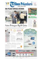Cover Tribun Pekanbaru 20 Mei 2019