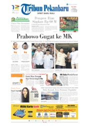 Tribun Pekanbaru Cover 22 May 2019