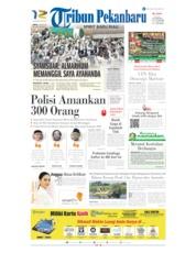 Cover Tribun Pekanbaru 24 Mei 2019