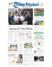 Tribun Pekanbaru Cover 25 May 2019