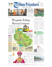 Cover Tribun Pekanbaru 26 Mei 2019
