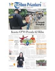 Cover Tribun Pekanbaru 09 Juni 2019