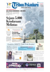 Cover Tribun Pekanbaru 10 Juni 2019
