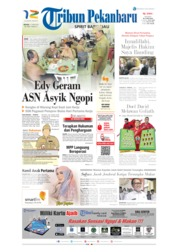 Cover Tribun Pekanbaru 11 Juni 2019