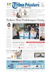 Cover Tribun Pekanbaru 13 Juni 2019