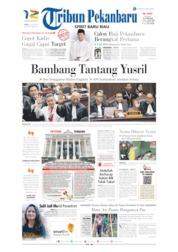Cover Tribun Pekanbaru 15 Juni 2019